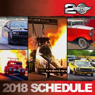 route  raceway announces full schedule