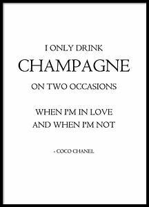 Coco Chanel Bilder : fashion poster poster mit zitat von coco chanel mode poster und plakate ~ Cokemachineaccidents.com Haus und Dekorationen