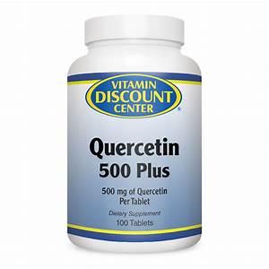 Quercetin 500 Plus By Vitamin Discount Center