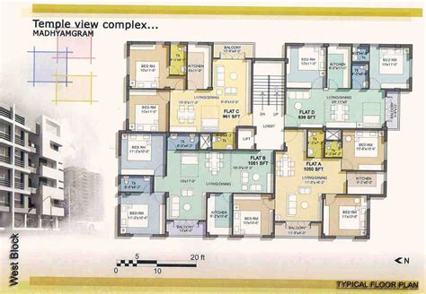 home house plans floor plan temple view complex fair properties