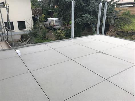 Terrassenplatten Reinigen Beton Garten Terrasse Aus Betonplatten