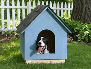 How to build a dog house pet hooligans for Easy diy dog house