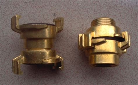 Storz Firehose Couplings With Brass Material Hose