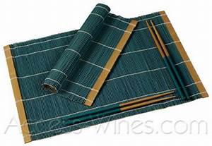 Set De Table Bambou : set de table en bambou ~ Teatrodelosmanantiales.com Idées de Décoration
