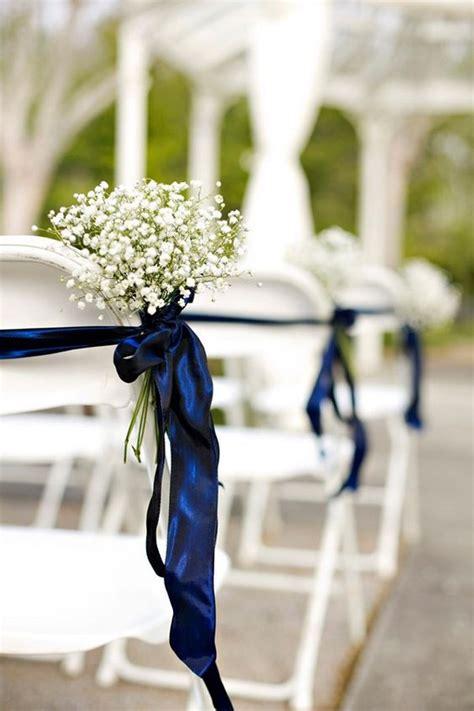 trending  navy blue  greenery wedding ideas