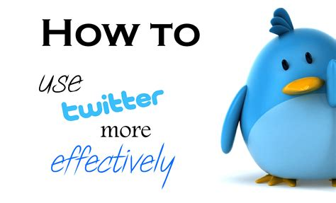 How To Use Twitter Effectively, Social Media Tips By Martin Reynolds
