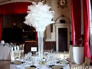 great gatsby 1920 39 s themed wedding centerpieces at the