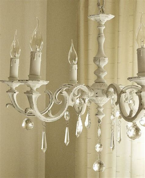 best 20 shabby chic chandelier ideas on