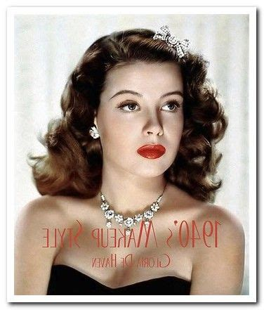 1940s hair and makeup styles 70 best 1940 s hair make up images on hair 5273
