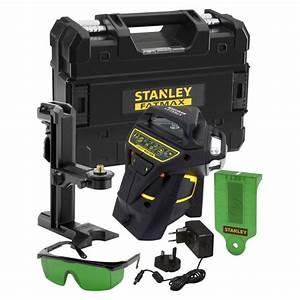 Niveau Laser Stanley : kit niveau laser multiligne x3r 360 vert accessoires ~ Melissatoandfro.com Idées de Décoration