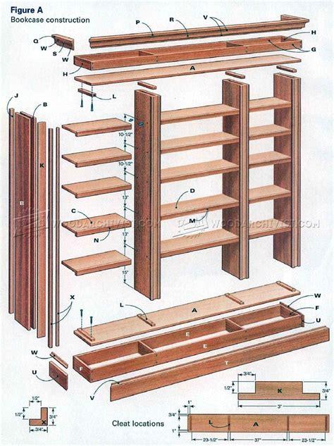diy bookcase furniture plans furniture