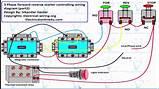 Motor Control Circuit Diagram Forward Reverse