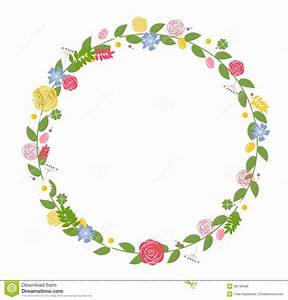 14 Flower Vector Floral Frame Images - Vintage Floral ...