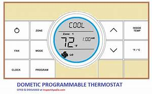 Dometic Control Center 2 Thermostat Wiring Diagrams