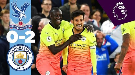 HIGHLIGHTS | Crystal Palace 0-2 Man City | Jesus, Silva ...