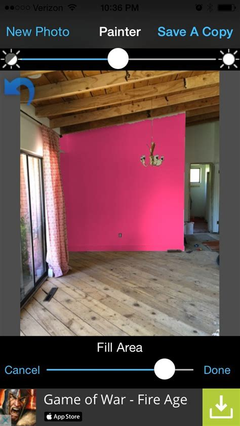 remodelaholic free diy mobile apps to test paint colors using your room