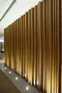 Vertical Wood Wall Interior