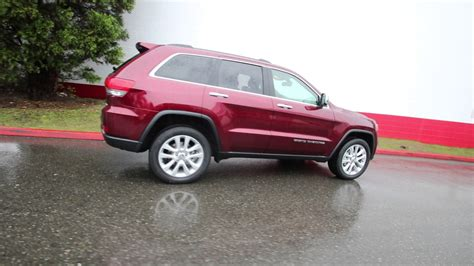 jeep grand cherokee limited 2017 red 2017 jeep grand cherokee limited red pearl hc760495