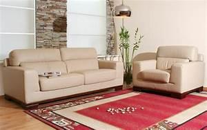Welche Kissen Zu Rotem Sofa : 20 beispiele f r ein beige sofa zu hause ~ Michelbontemps.com Haus und Dekorationen