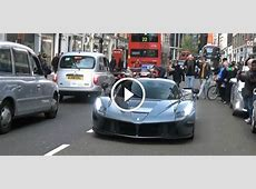 Gordon Ramsay Enjoys His LaFerrari in London