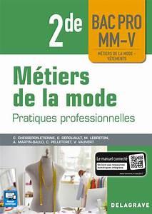 M U00e9tiers De La Mode 2de Bac Pro Mm-v  2018
