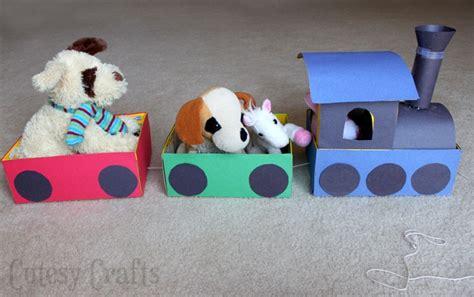 Shoebox Train Craft For Kids  Cutesy Crafts