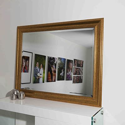 frameless wall mirrors cheap 93cm x 119cm framed bevelled mirror sqg1047b mirrors