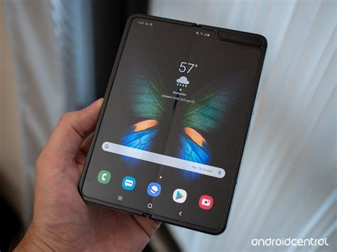 samsung galaxy fold review potential and promise not a product android central