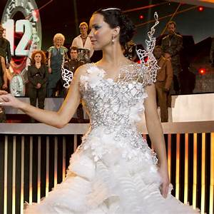 Katniss' Most Powerful 'Hunger Games' Dresses, Illustrated ...
