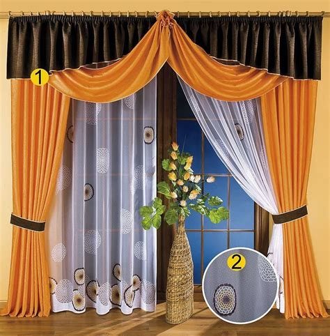 Draping Sheer Curtains - curtains and valances unique european design sheer