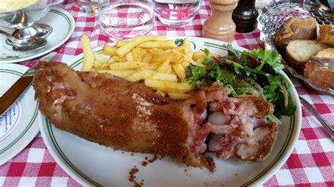 cuisiner pied de cochon au pied de cochon picture of au pied de cochon
