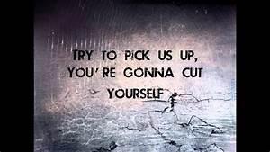 Broken Glass - ... Broken Lyrics