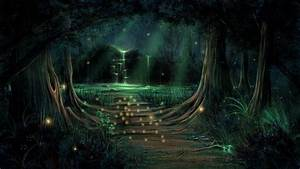 Enchanted Forest Backgrounds ·① WallpaperTag