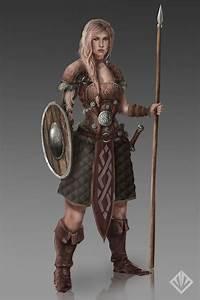 Female warrior by D3SMMUN.deviantart.com on @DeviantArt ...