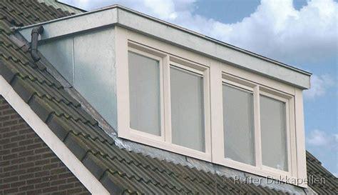 flauw pannendak houten dakkapel 7 10 meter ruiter dakkapellen