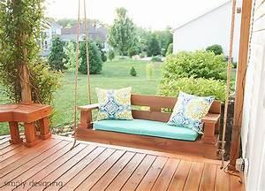 12 DIY Ideas for Patios, Porches and Decks • The Budget