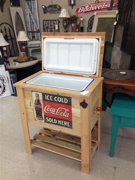 diy pallet cooler box ideas wooden cooler pallet cooler