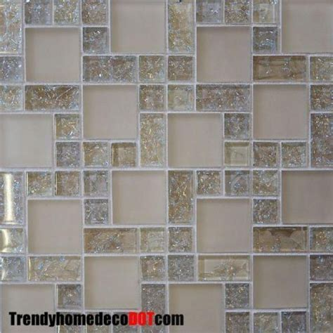 glass wall tiles for kitchens sle crackle glass mosaic tile kitchen backsplash 6866
