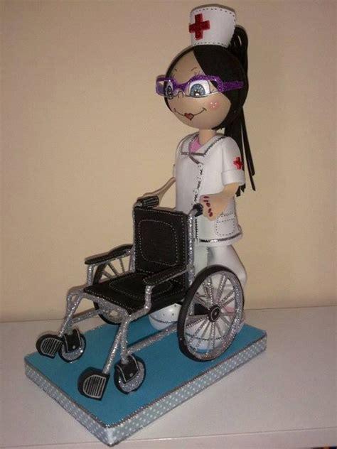 manualidades como hacer fofuchas para graduacion enfermera
