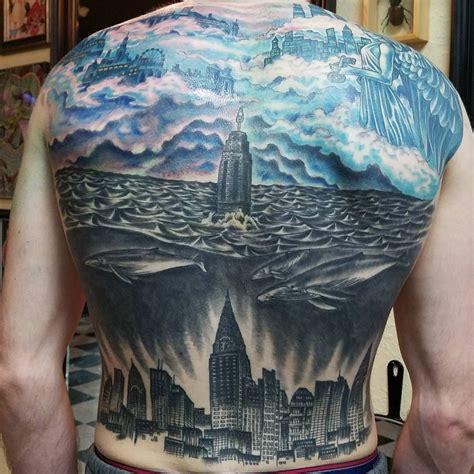 foto de One of the most badass Bioshock tattoos by far Bioshock
