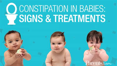 Constipation In Babies Signs And Treatments Parents