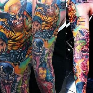 Marvel tattoo | Cool geek tattoos | Pinterest | Sleeve ...