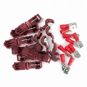 20pcs Red Solderless Female Quick Splice Wire Connector