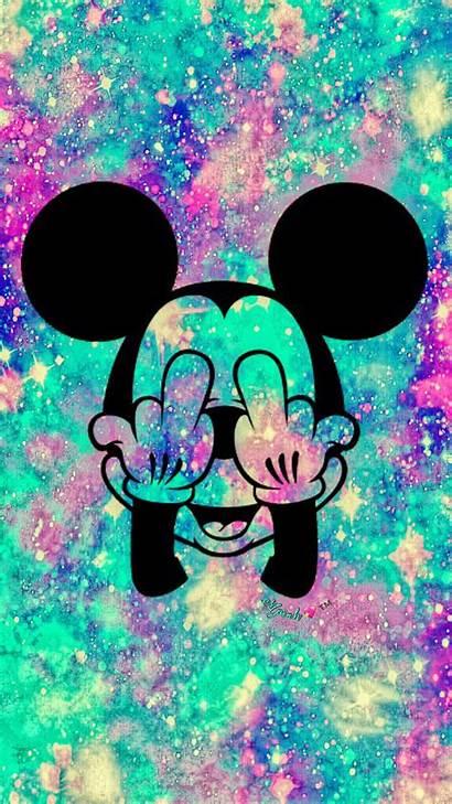 Mickey Mouse Galaxy Grunge Papel Minnie Disney