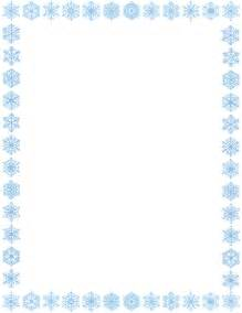 snowflake clipart border clipartsgram com