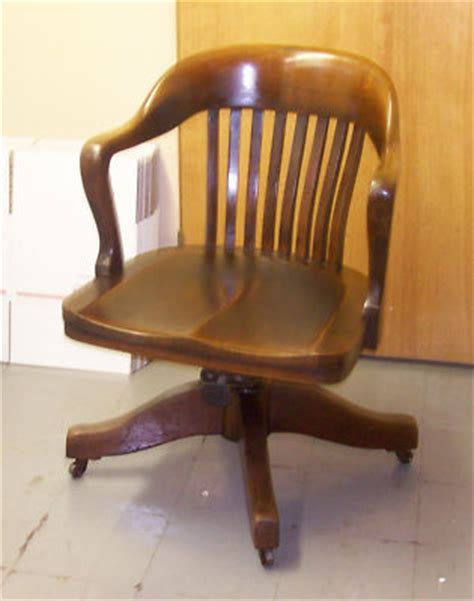 vintage oak bankers chair oak lawyer banker swivel chair colonial chair company