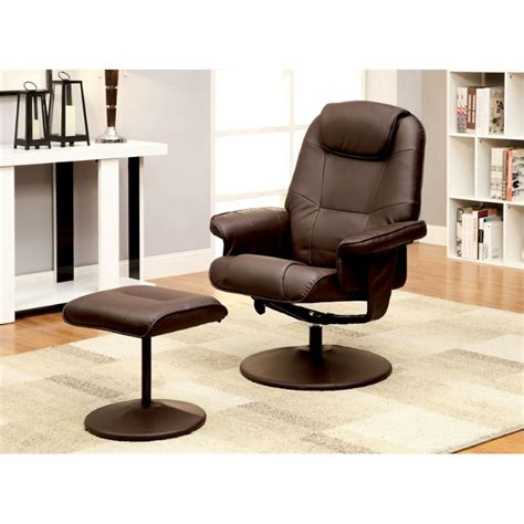 cheswold swivel lounge chair with ottoman upholstery brown