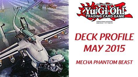 mecha phantom beast deck 2015 yu gi oh mecha phantom beast deck profile mayo 2015