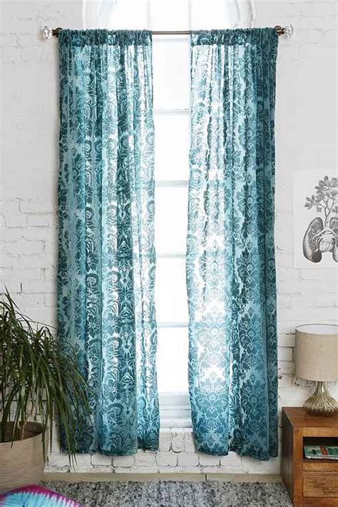 damask velvet burnout curtain outfitters