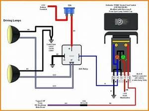 5 Pin Relay Wiring Diagram Spotlights Di 2020